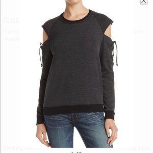 "Project Social T ""Additude""Cold Shoulder Pullover"